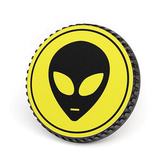 LenzBuddy Body Cap for Canon EF Mount Cameras (Alien, Yellow)