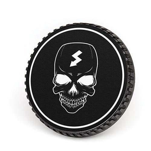 LenzBuddy Body Cap for Canon EF Mount Cameras (Skull, Black/White)