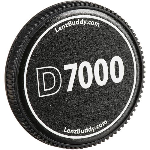 LenzBuddy Body Cap for Nikon F Mount Cameras (D7000, Black/White)