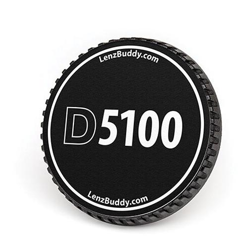 LenzBuddy Body Cap for Nikon F Mount Cameras (D5100, Black/White)