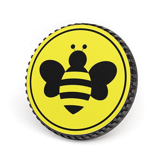 LenzBuddy Body Cap for Nikon F Mount Cameras (Bumblebee, Yellow)