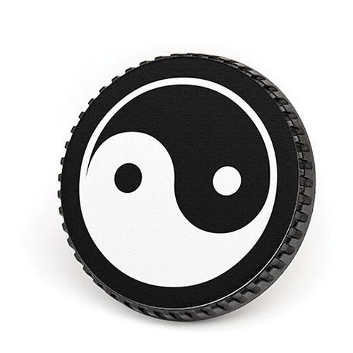 LenzBuddy Body Cap for Nikon F Mount Cameras (Yin Yang, Black/White)