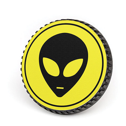 LenzBuddy Body Cap for Nikon F Mount Cameras (Alien, Yellow)