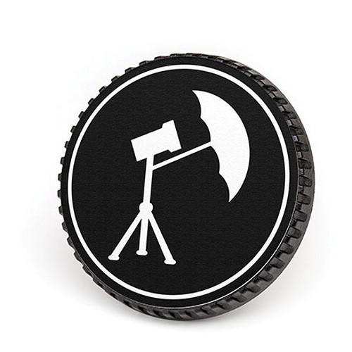 LenzBuddy Body Cap for Nikon F Mount Cameras (Umbrella, Black/White)