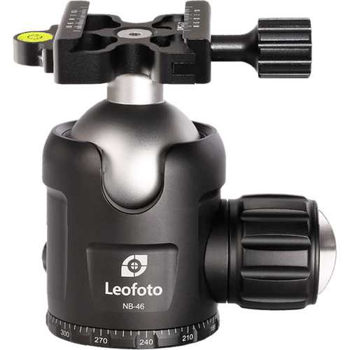 Leofoto NB-46X Ball Head with Panning Clamp