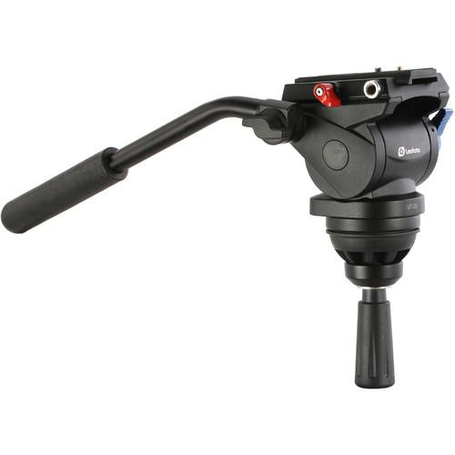Leofoto VT-20 Fluid Video Head with 75mm Half-Ball