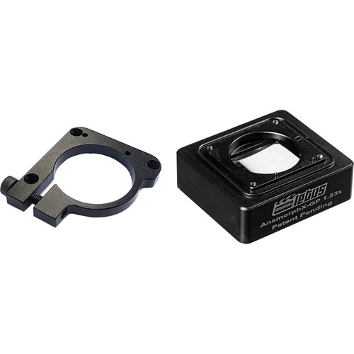 Letus35 Anamorphic Lens Adapter with Clamp Mount for GoPro
