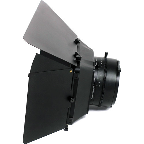 Letus35 AnamorphX Adapter with Matte Box & Top Flag, Side Flags & Snap-On Filter Tray (Low Flare)
