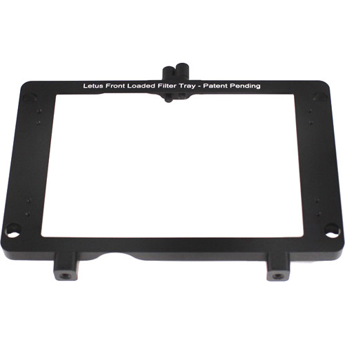 "Letus35 Snap-On 2 Stage Filter Tray for Anamorphx & V2 Matte Box (4 x 5.65"")"