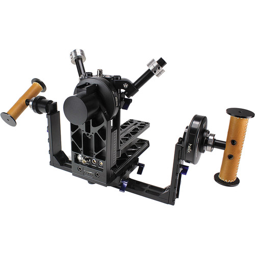 Letus35 Helix 3-Axis Aluminum Camera Stabilizer with Bluetooth and RC Modules