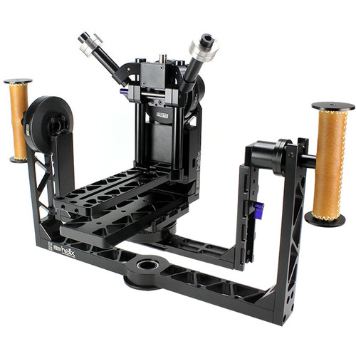 Letus35 Helix 4-Axis Aluminum Camera Stabilizer with Bluetooth-WiFi and RC Modules