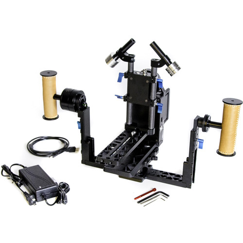 Letus35 Helix 3-Axis Camera Stabilizer with Bluetooth/RC Modules and Encoders (Magnesium)