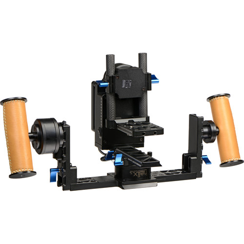 Letus35 Helix Jr. Gimbal Stabilizer Handheld-Mode with Bluetooth & WiFi (Aluminum)