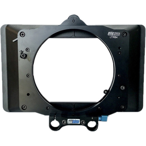 """Letus35 2-Stage Clip-On 4 x 5.6"""" Matte Box Kit with 80mm Lens Clamp"""