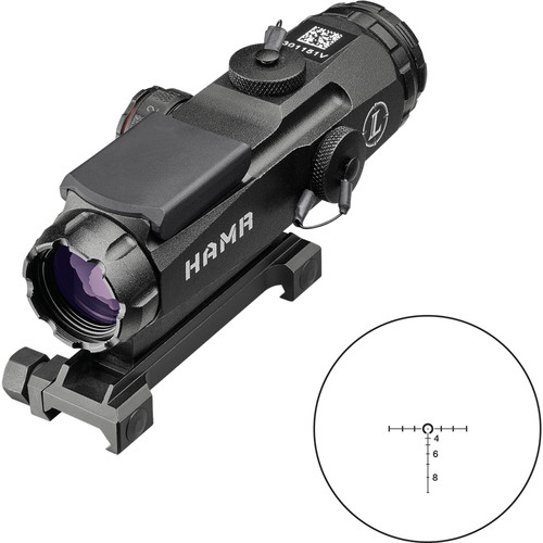 Leupold 4x24 Mark 4 HAMR Riflescope (CM-R2 Illuminated Reticle)