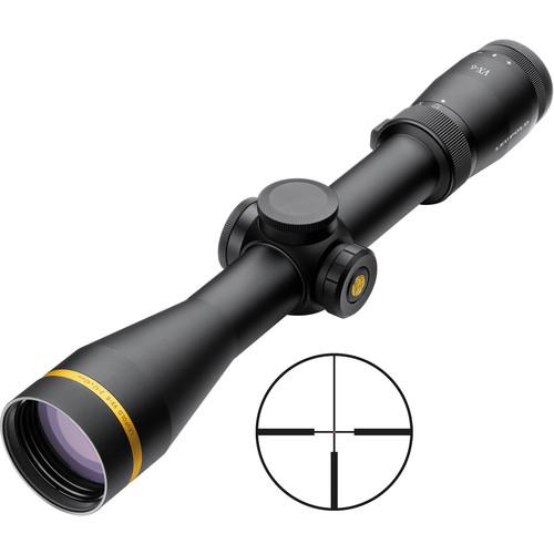 Leupold 2-12x42 VX-6 Riflescope (FireDot 4 Illuminated Reticle, Matte Black )