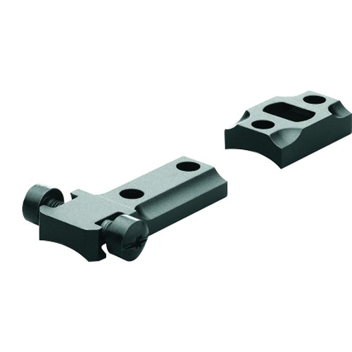 Leupold Standard 2 Piece Bases for Ruger American Round Receiver (Matte Black)