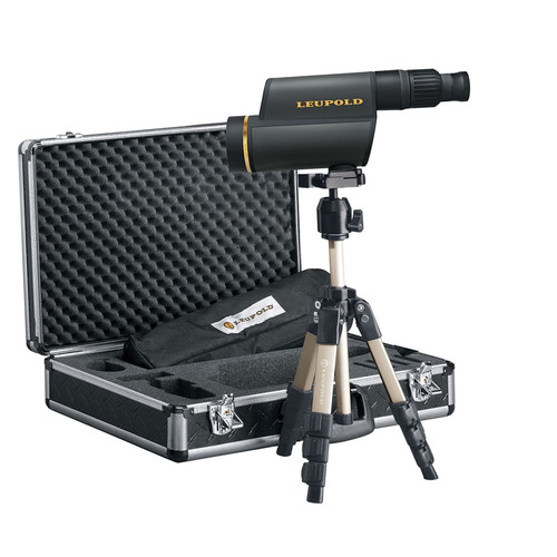 Leupold GR 12-40x60 HD Spotting Scope Kit (Straight Viewing, Shadow Gray)