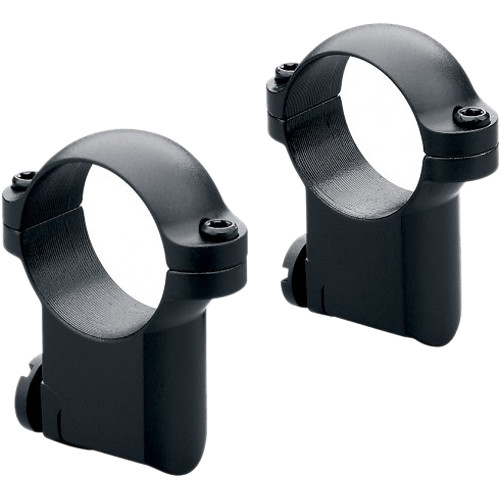 "Leupold RM Ruger M77 Ringmounts (1"", Steel, Medium, Matte Black)"
