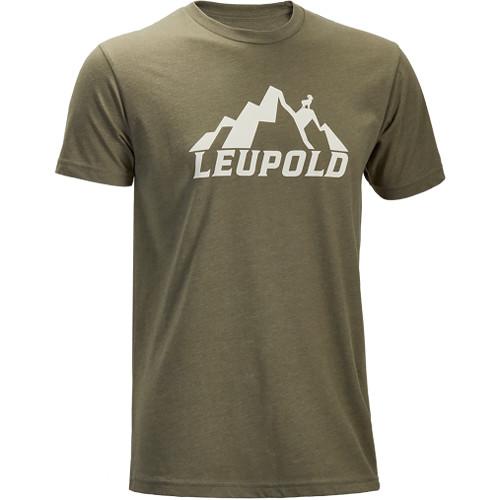 Leupold Men's Short-Sleeved Mt. Leupold Lt. Olive Tee Shirt (XL)