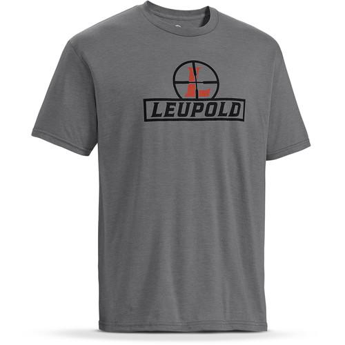 Leupold Short-Sleeve Reticle T-Shirt (Heather Gray, Medium)