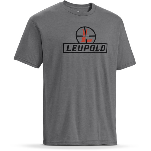Leupold Short-Sleeve Reticle T-Shirt (Heather Gray, Large)