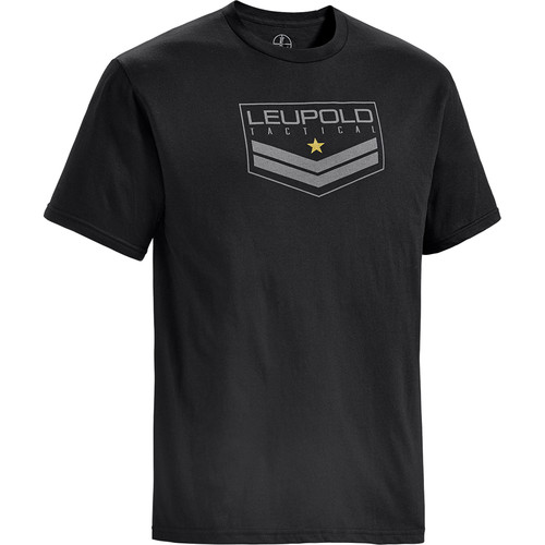 Leupold Tact Badge Logo T-Shirt (Black, Medium)