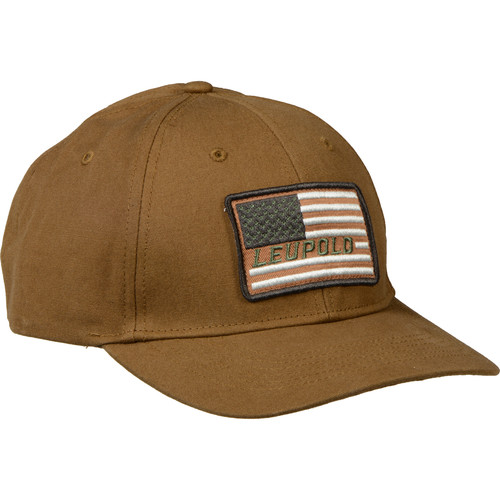 Leupold Flag Twill Hat (Brown, One Size)