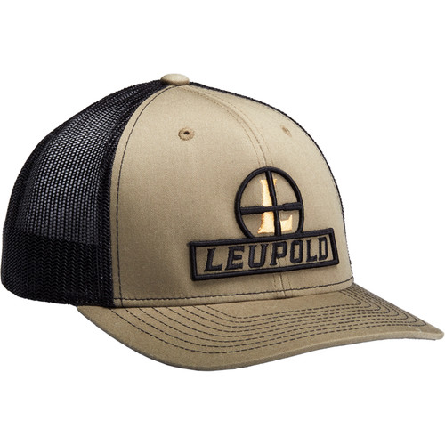 Leupold Flat Brim Trucker Hat (Loden-Green/Black)