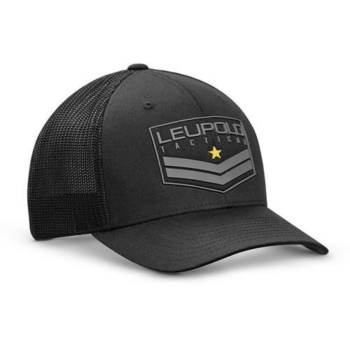 Leupold Tact Badge FlexFit Hat (Black, Large/X-Large)