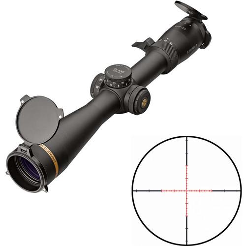 Leupold 3-18x44 VX-6HD CDS-ZL2 Side Focus Riflescope (Varmint Hunter Illuminated Reticle, Matte Black)