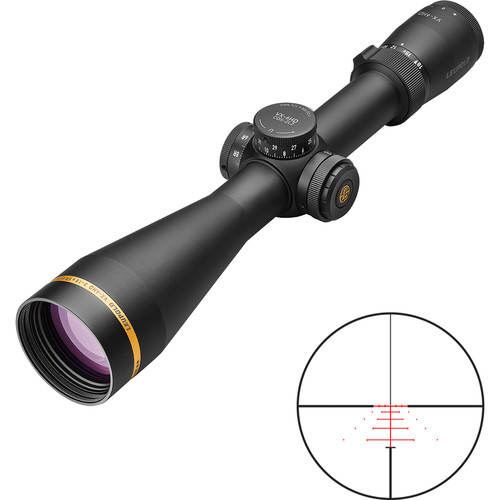 Leupold 3-18x50 VX-6HD CDS-ZL2 SF Riflescope (Illuminated Varmint Hunter Reticle, Matte Black)