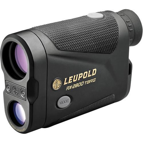 Leupold 7x27 RX-2800 TBR/W Laser Compact Digital Rangefinder (Black/Gray)