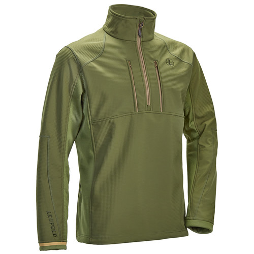 Leupold Men's Secluded 1/2 Zip Pullover Sweatshirt (L, Shadow Green)