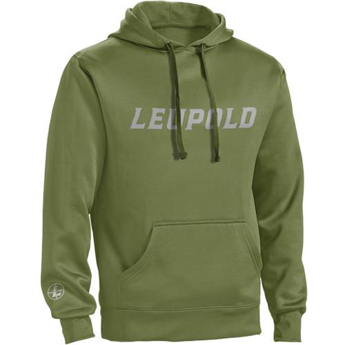 Leupold Logo Hoodie (M, Shadow Green)