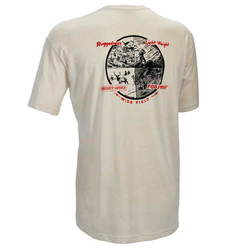 Leupold Men's Short-Sleeved Vintage L&S Tee Shirt (XL, Sand)