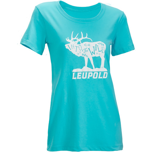 Leupold Women's Short-Sleeved WILD Tee Shirt (S, Teal)