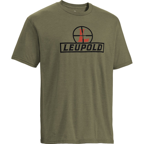Leupold Youth Short-Sleeved Reticle Tee Shirt (M, OD Green)