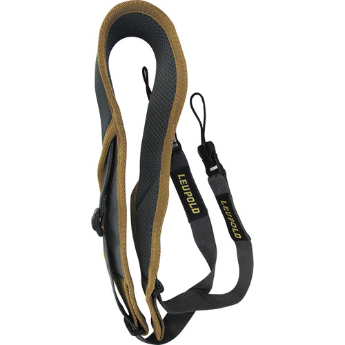 Leupold GO Afield Deluxe Binocular Strap (Shadow Gray/Tan)