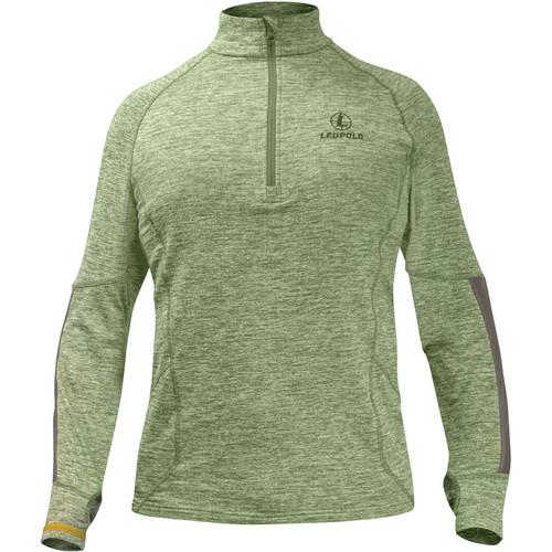 Leupold Men's Covert Half-Zip Fleece (Shadow Green, Large)