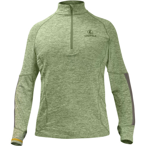 Leupold Men's Covert Half-Zip Fleece (Shadow Green, X-Large)