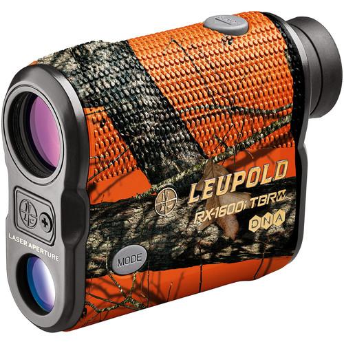 Leupold 6x22 RX 1600i TBR/W Compact Digital Laser Rangefinder (Mossy Oak Blaze Orange)