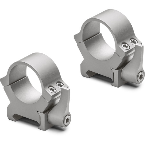 "Leupold QRW2 Riflescope Rings (1"", Low, Silver Finish)"