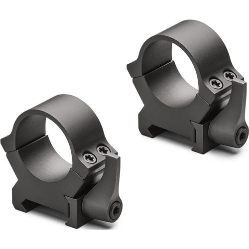 "Leupold QRW2 Riflescope Rings (1"", High, Gloss Black Finish)"
