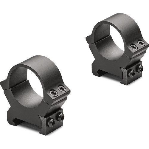 "Leupold PRW2 Riflescope Rings (1"", Medium, Gloss Black)"