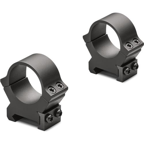 """Leupold 1"""" PRW2 Weaver-Style Mounting Rings (2-Pack, Medium, Matte)"""