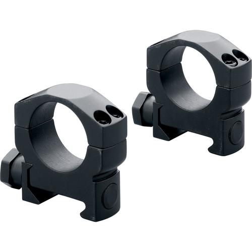 Leupold Mark 4 Mounting Rings (35mm, Aluminum, Super High, Matte Black)