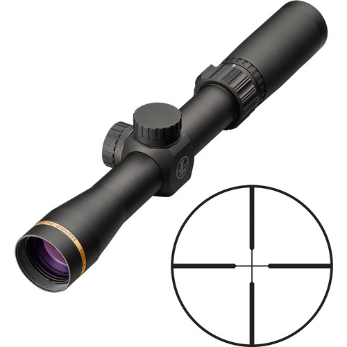 Leupold 1.5-4x28 VX-Freedom Riflescope (Duplex Reticle, Matte Black)