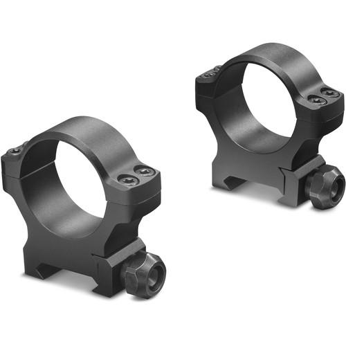 Leupold BackCountry Cross-Slot Rings (34mm, Medium, Matte Black)