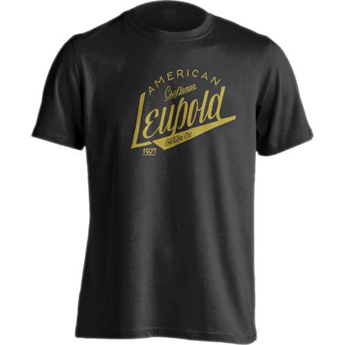 Leupold Men's American Craftsman T-Shirt (Black, Extra-Large)